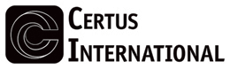 Certus International Black and White Logo for Printing